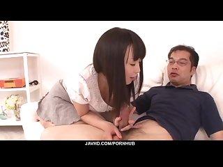 Nozomi Hazuki wants to swallow after blowjob