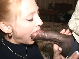 Interracial fuck bbc and blonde