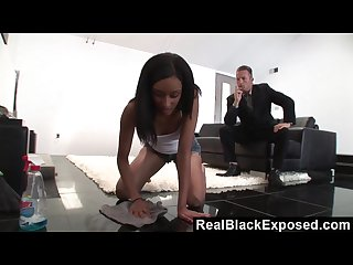 Realblackexposed fucking the maid