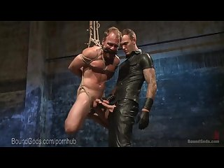 Perv punished by leather dom coach