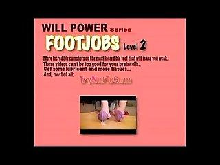 Willpower series feet footjobs lv2 trynottocum
