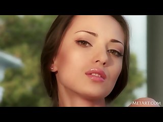 Glamour hot perfect model anna aj met art