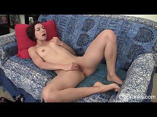 Redhead amateur anja masturbating