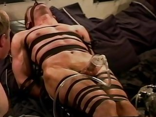 Extreme cock and ball vacuum pumping