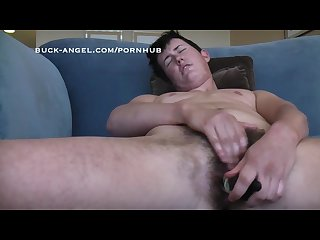 Trans man eddie likes to fuck his pussy