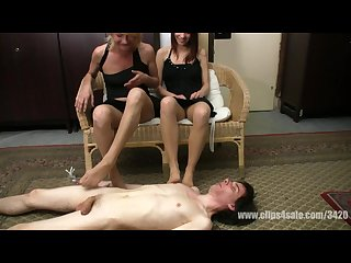 Nylon feet pantyhose feet sniffing sisters smelling foot new girls