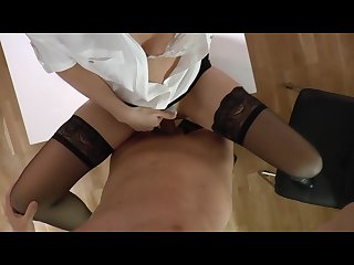 The office slut fucked by the boss