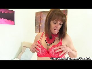 English gilf pandora hasn t Lost her appetite for orgasm