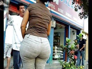 Big butt bbw street milf 7