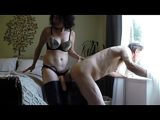 Mature lady anal fucks her husband for tokens on universalcamgirl com
