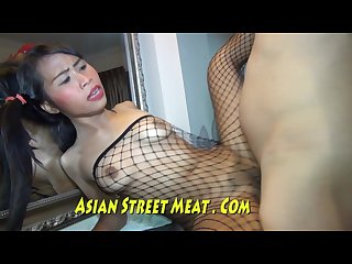 Video And Sex In A Fishnet Body Stocking