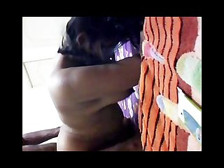Hot indian girl in action