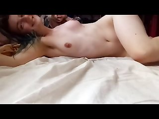 After sex massage and tickling for shy cutie