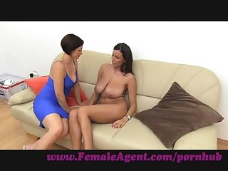 Femaleagent it S all about the tits