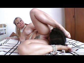 Famous huge butt and slave s tongue deep tongue fucking