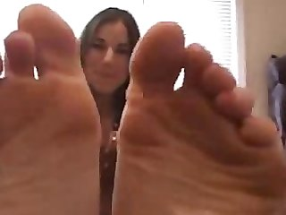 Jessica s vinegary foot tease