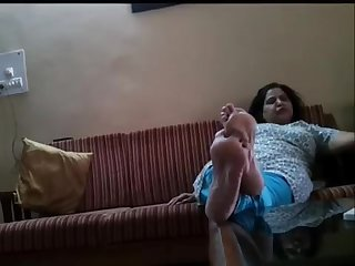 Feet of mature indian goddess 11
