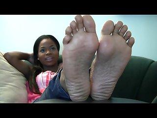 Tamaras feet soles