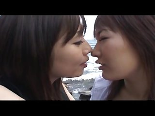 Asian tounge kissing japanese lesbian girls dad047