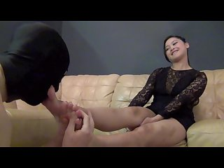 Asian foot worship