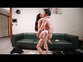 Korean softcore collection sofa sex affair scene