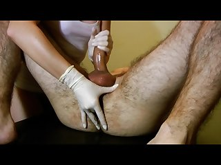 First deep prostate massage his best orgasm
