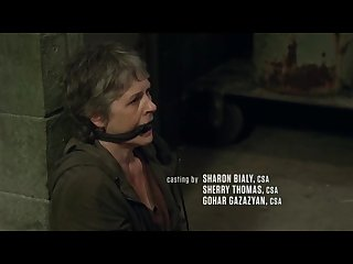 Maggie and carol tied up and gagged the walking Dead