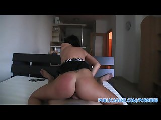 Publicagent hd i cum in real estate agents tight pussy