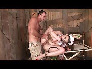 Hairy nurses scene 1