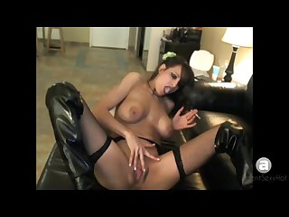 Vintage ash sandi squirts smoking and squirting
