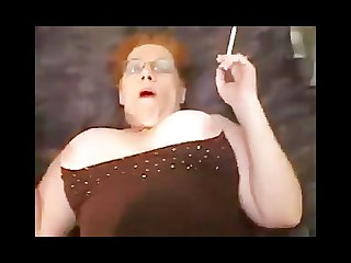 Fat mom smoking sex