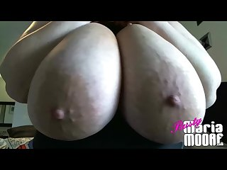 Huge tits getting played with