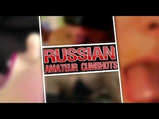 Russian amateur cumshots by lmbt
