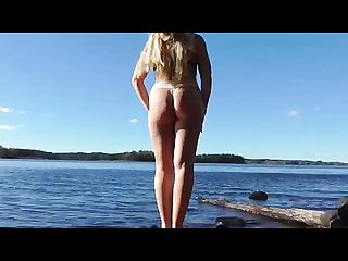 Squirting milf outdoor caught girl masturbate amateur orgasm squirt