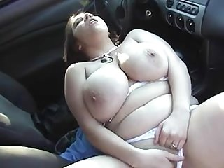 Bbw fat boobs public masturbation