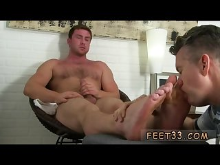 Gay bum and feet movies first time connor gets off twice being worshiped