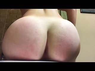 Shaking and clapping bubble booty