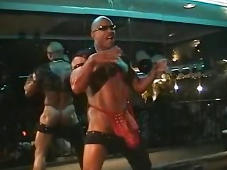 Black male stripper monster