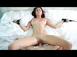 Fantasyhd tied down and submissive ariana marie gets fucked