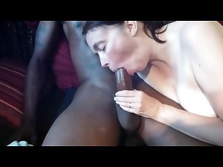 Interracialplace org mature white wife enjoying her first bbc