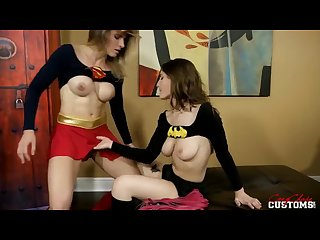 Molly jane and cory chase in batman Vs superman Xxx
