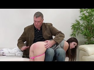 German milf spanked hard