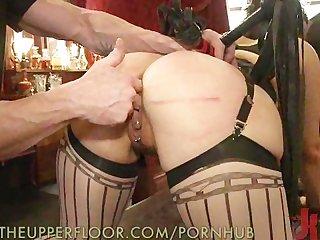 Slave orgasm marathon