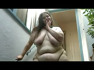 Young cellulite bbw