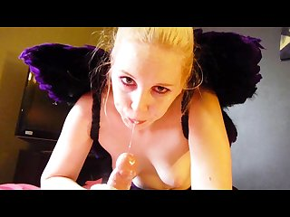 Cosplay faerie takes messy cumshot in her mouth whore r stories