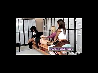Bad girl punished and spanked in the dressing room