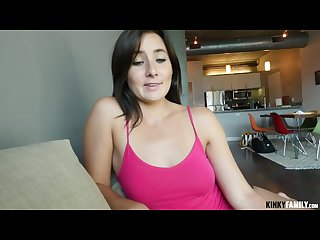 Kinky family stepsister wants my cock