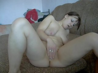 Webcam solo masturbation striptease real female orgasm