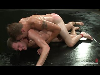 Oil Wrestling winner fucks loser