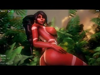 Nidalee 3d hentai game Lol league of legends